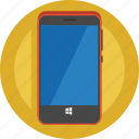 call, cell phone, contact, device, mobile, phone, smartphone icon