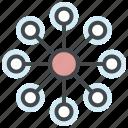 code repository, coding, deployment, development, devops, package icon