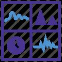 dashboard, devops, production, report, statistics icon