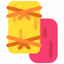 de, dia, food, mexican, mexico, muertos, tamale icon