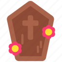 religion, cross, day of the dead, de, dia, muertos, coffin