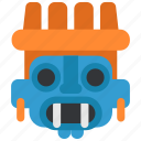 day of the dead, dead, dia, mexican, muertos, tlaloc, tradition icon