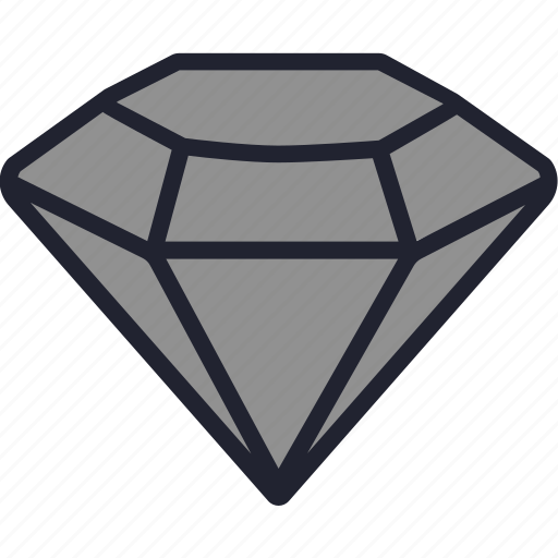 diamond, gem, gemstone, jewelry, stone icon