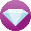 clear, diamond, gemstone, jewelry, luxury, precious, sparkle icon
