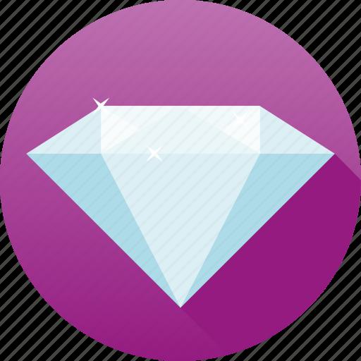 Clear, diamond, gemstone, jewelry, luxury, precious, sparkle icon - Download on Iconfinder