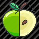 apple, diet, fitness, fruit, health
