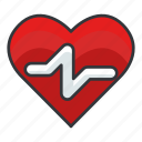 diet, fitness, health, heart, heart rate, heartrate icon