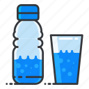 beverage, bottle, drink, fitness, glass, water