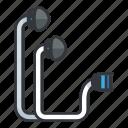 device, earplugs, entertainment, fitness, multimedia