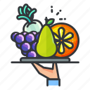 diet, fitness, food, fruit, healthy icon