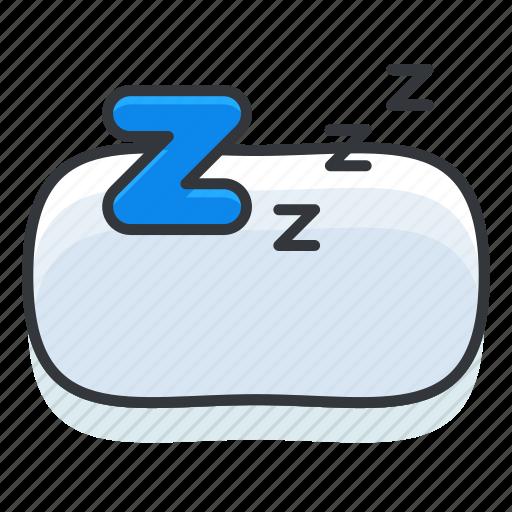 diet, fitness, health, rest, sleep icon
