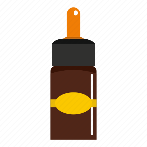 bottle, drop, medical drops, medicine, nose, pipette icon
