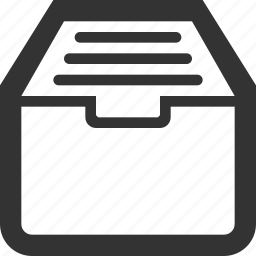 archive, archives, closet, documents, files, office icon