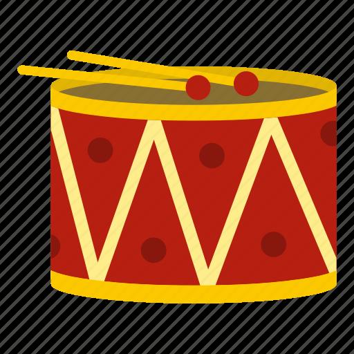 drum, instrument, music, musical, sound, stick, toy icon