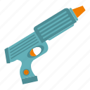 game, gun, pistol, plastic, play, toy, weapon icon