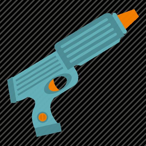game, gun, pistol, plastic, play, toy, weapon icon