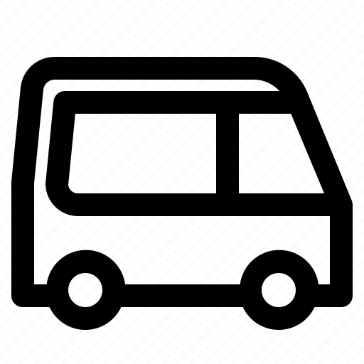 bus, public, transport, vehicle icon