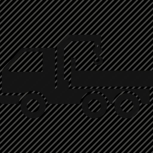 auto, automobile, car, crane, loader, manipulator, transport icon