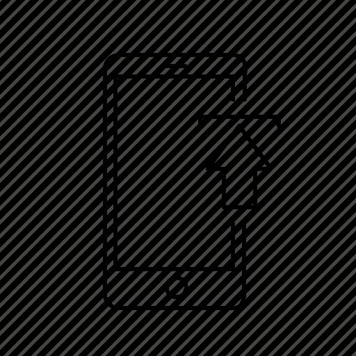 app, upload icon