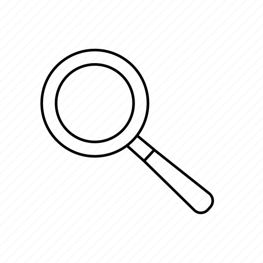 focus, magnifyer, magnifying glass, research, search, zoom icon