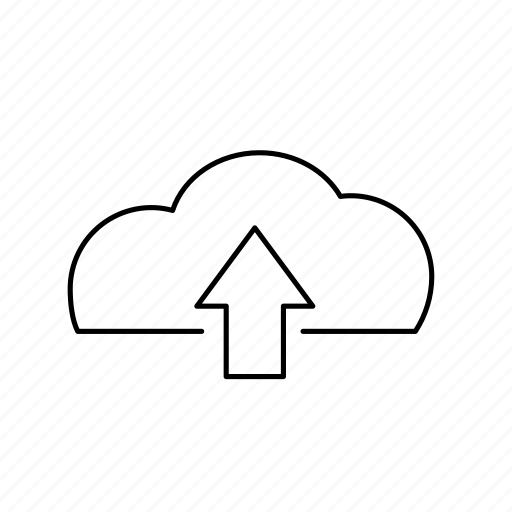 cloud, data, file, load, upload icon