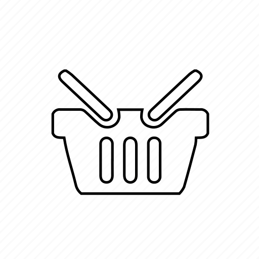 basket, shop, shopping, shopping basket, store icon