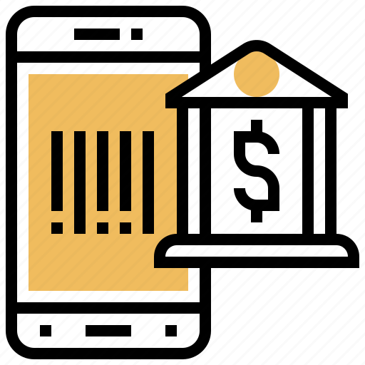 barcode, device, scan, smartphone, technology icon