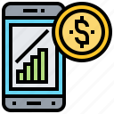 analysis, economy, finance, investment, trading icon