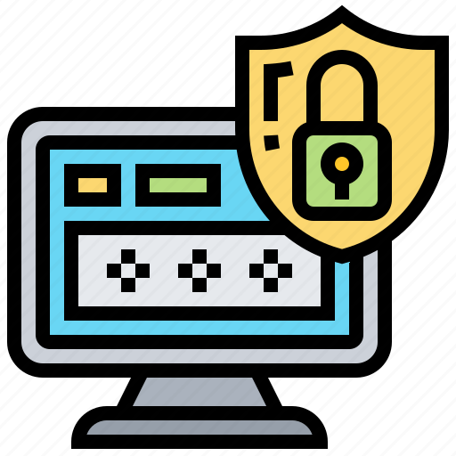access, lock, login, password, privacy icon