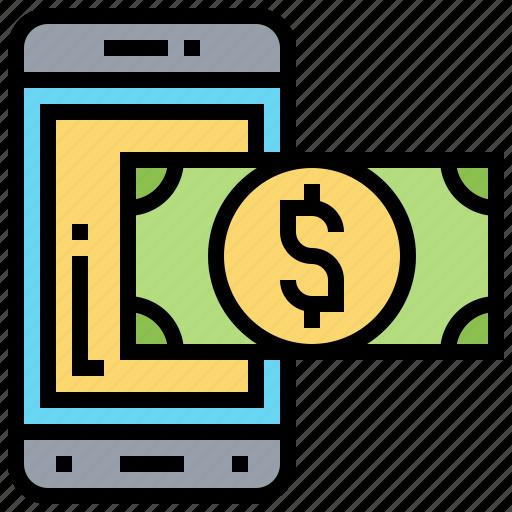 digital, money, refund, tax, wallet icon
