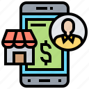 commerce, online, retail, shopping, store icon