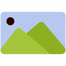 gallery, image, landscape, mountain, photo icon