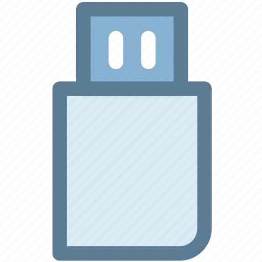flash drive, memory, pen drive, usb, usb drive, usb flash drive, usb stick icon