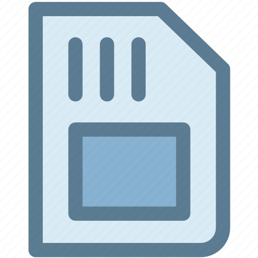 memory card, micro, micro sd card, microchip, sd card icon