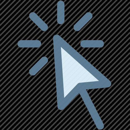 arrow cursor, click, cursor, mouse, mouse cursor icon