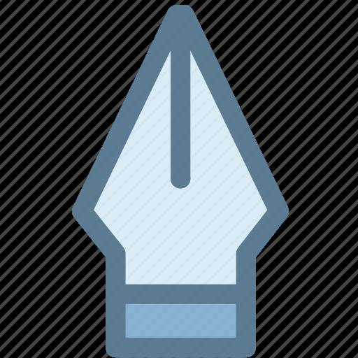 dip pen, fountain pen, ink pen, nib, pen icon