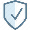 guard, protected, protection, security, shield, warning icon