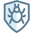 antivirus, bug, protect, security, security bug, virus icon