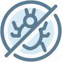 antivirus, bug, digital, protect, security, security bug, virus icon