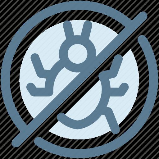 antivirus, bug, digital, protect, security, security bug, virus icon