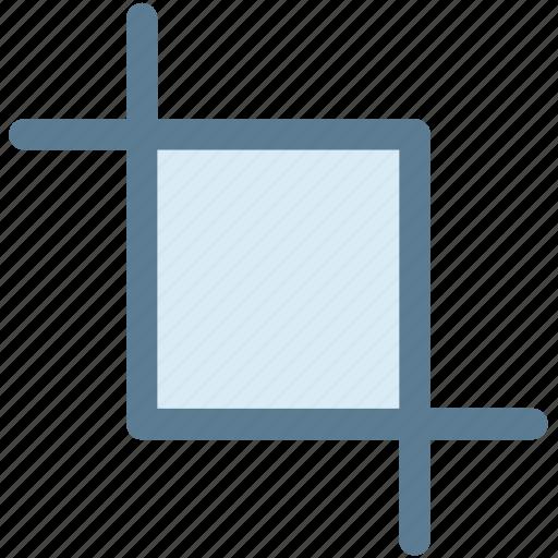 crop, design, digital, image, reduce size, resize, selection icon