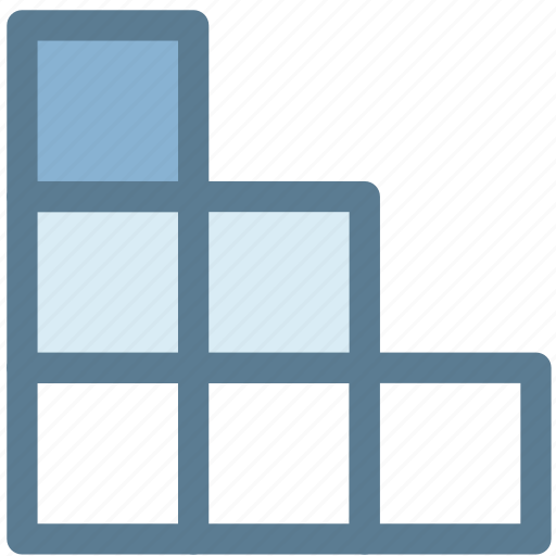 design, digital, shelves, stair, stair cabinet, storage icon
