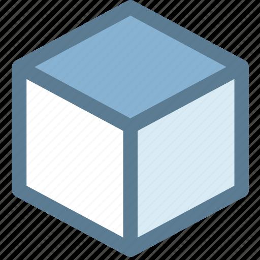 box, cardboard, carton, closed box, design, digital, package icon