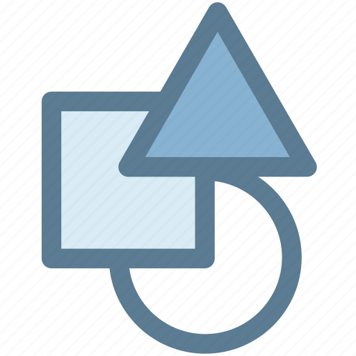 abstract, creative, design, shape, shapes, triangle icon