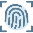 dna, fingerprint, identity, touch, touch screen icon