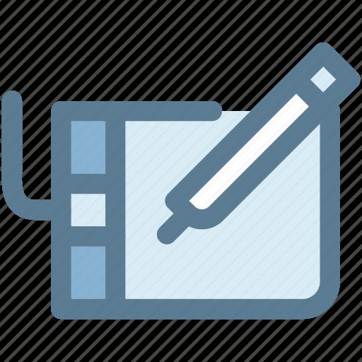 design, stylus, tablet, wacom, wacom tablet icon
