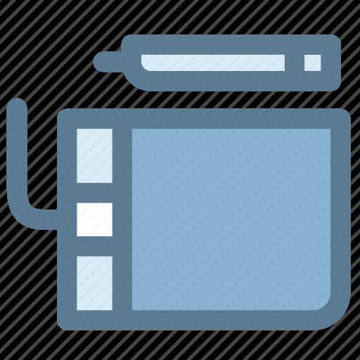 design, pen mouse, stylus, tablet, wacom, wacom tablet icon