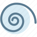 design, round, shape, spiral, spiral tool, tool icon
