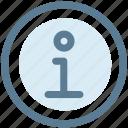 circle, faq, help, info, information