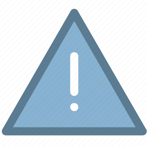 alert, caution, reminder, triangle, warning icon